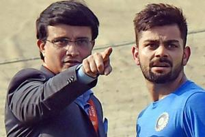 Sourav Ganguly has a hilarious challenge for Virat Kohli in the ICC World Cup 2019.