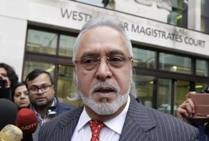 Indian businessman Vijay Mallya speaks to the media as he leaves Westminster Magistrates Court in London, Monday, Dec. 10, 2018. A British court has ordered that charismatic Indian tycoon Vijay Mallya should face extradition to India on financial fraud allegations. (File Photo)