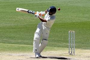 There was uneven bounce on the Perth wicket during the second Test between India and Australia.