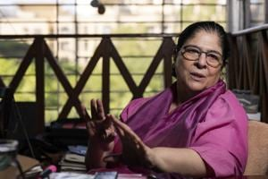 Anamika Haksar, a veteran theatre director, says she sold her Delhi home and took loans from friends and family to fund the making of her film.