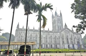 St Paul's Cathedral, Kolkata. In 2019, it will be 180 years since work on the cathedral began, in 1839.