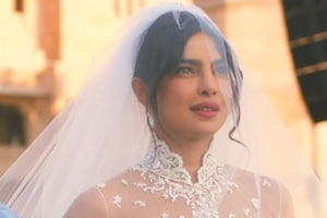 At the LAreception, will Priyanka Chopra be wearing Ralph Lauren, the same designer she wore when she married Nick Jonas in Jodhpur?  (Instagram)