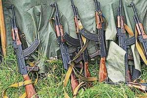Accused Purushottam Rajak and his accomplices in Munger sold assault rifles, made from usable parts of dumped weapons.