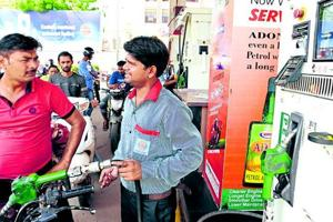 Under pressure to reduce petroleum prices, the union government announced a cut in excise duties on petrol and diesel.
