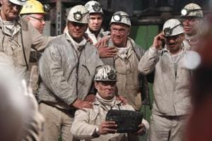 Photos: An emotional farewell to Germany's last active black coal mine