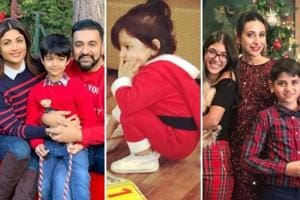 Shilpa Shetty is in London with her family. Esha Deol, Karisma Kapoor and Sara Ali Khan shared these pictures for Christmas.