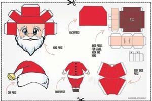 Make your own Santa Claus