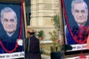 Rajnath Singh, Yogi Adityanath pay tribute to Atal Bihari Vajpayee