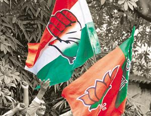 A senior BJP leader's visit to the house of a Congress Karnataka MLA, who is sulking at being overlooked in the Congress-JD (S) ministry expansion, has created a buzz