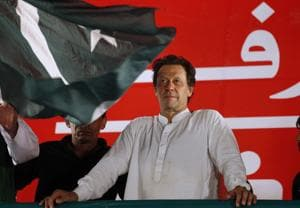 """Pakistan's Prime Minister Imran Khan on Tuesday again tried to compare the treatment of minorities in his country and India, saying these communities would be treated as equal citizens in """"Naya Pakistan"""", """"unlike what is happening in India""""."""