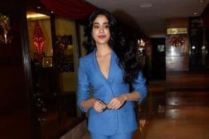 Janhvi Kapoor made her Bollywood debut in Karan Johar's Dhadak.