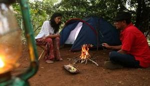 Hemant Chabbra, 57, and his wife have left Mumbai to live on an organic farm that used to be a weekend getaway. 'Returning to the city just made us unhappy, so we shifted,' Hemant says.