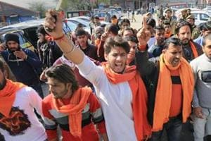 Bajrang Dal activists have warned they will protest New Year celebrations in Bengaluru ( File Photo)