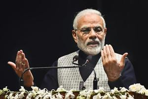 Prime Minister Narendra Modi accused the Congress of deceiving farmers with promises of loan waivers and vowed to continue the crackdown against corruption.