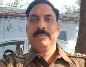 Subodh Kumar Singh, the police station house officer who was killed in Bulandshahr violence, of western Uttar Pradesh on December 3.
