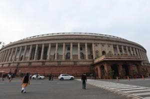 The Rajya Sabha was Friday adjourned for the day without transacting any business after uproar by opposition members over construction of a dam on the Cauvery River and other issues.