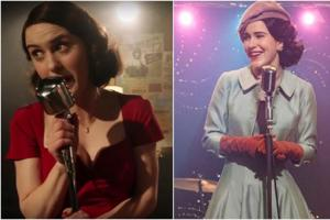 It's almost like the clothes are a character themselves in The Marvelous Mrs. Maisel