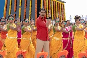 Simmba movie review: Ranveer Singh exults in his role as a cop with Sara Ali Khan as the daughter of an encounter specialist.