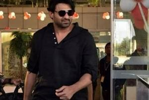 Many Tollywood celebrities were seen arriving at the Jaipur airport.