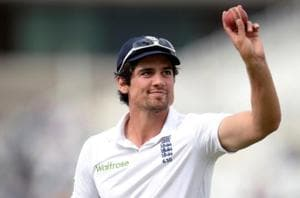 File picture of Alastair Cook