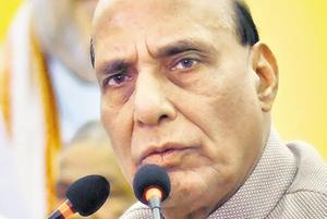 The central government is ready for assembly election in Jammu and Kashmir on any date and it is unfair to doubt its intentions in the troubled state, Union home minister Rajnath Singh said in Lok Sabha .