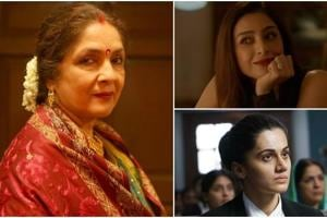 Neena Gupta, Tabu and Taapsee Pannu charmed everyone with their brilliant performances this year.