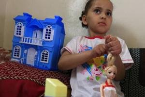 Buthaina Mansur al-Rimi's life has changed drastically since last year -- orphaned in Sanaa, the little girl controversially ended up in Saudi Arabia for medical care and has just returned to Yemen's capital.