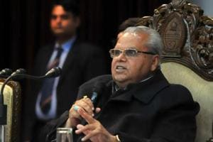 Jammu and Kashmir Governor Satya Pal Malik on Monday dismissed former chief minister Mehbooba Mufti's allegations that police had harassed the family of a militant but said that the IG, Kashmir would probe the matter (File Photo)