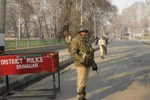 Jammu and Kashmir DGP Dilbag Singh said that despite over 300  militants being killed in the state this year, nearly 300 more are active in Kashmir Valley (File Photo)