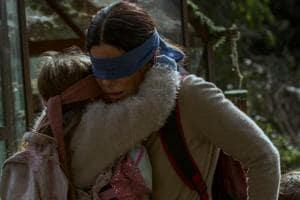 Sandra Bullock in a still from Netflix's Bird Box.