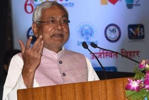 Bihar Chief Minister Nitish Kumar on Monday assured businessmen that two battalions of a state force on the pattern of the Central IndustrialSecurity Force will be set up to protect businessmen (File Photo)