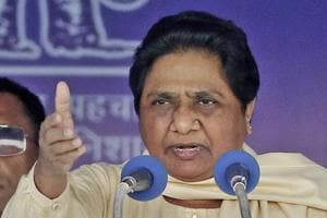 """Bahujan Samaj Party (BSP)supremo Mayawati warned the Congress in both the states that her party will reconsider support to them if they do not revoke cases filed against """"innocent people"""" during last year's April 2 Bharat Bandh called by Dalit groups."""