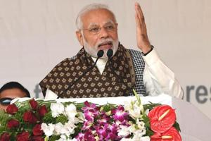 """On actor Naseeruddin saying that minorities were feeling unsafe in the country, PMModi said """"before elections, some people do see insecurity. Some people have an agenda""""."""