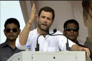 Rahul Gandhi dares PM Modi for a one-on-one debate on Rafale row