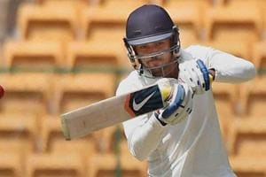 File image of Manish Pandey in action during a Ranji Trophy match.
