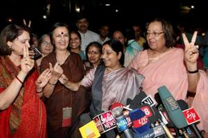 It is almost as though a woman politician in India is not permitted to have a normal family life or indeed interests other than her profession. Do we know, barring a very few, what interests our women politicians have?