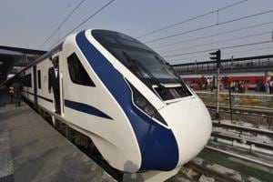 Train 18 will connect Delhi with Varanasi and take about eight hours to complete the journey between the two cities, railway minister Piyush Goyal said on Wednesday.