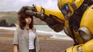 This Transformers origin story begins with the alien autobot Bumblebee crashlanding in the US. Disguised as a rusty Volkswagen Beetle, it is acquired by a teenage gearhead who must now keep its true identity a secret. The tough-tender rapport of the young woman and the shape-shifter is surprisingly moving.