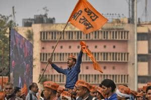 In Delhi, the VHP reminded the BJP that the pledge it had made to construct the temple in its manifesto had brought it to power in 2014 and that promise should be fulfilled during PMModi's current tenure.