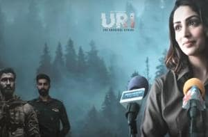Yami Gautam shared a special Uri promotional video on Twitter.