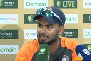 Rishabh Pant says every 100 is special but performing for team is impor...