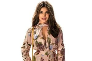 Priyanka Chopra featured on her character poster for Isn't it Romantic.