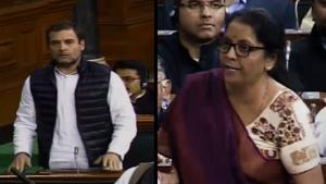 'You spoke but did not answer,' Rahul Gandhi targets Sitharaman on Rafa...