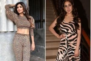 Animal prints are returning and Sara Ali Khan could be continuing the trend started by Shilpa Shetty Kundra in the 90s