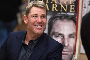 File picture of Shane Warne