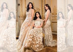 Meet our three Indian princesses (from left) Aria Mehta, Ananya Raje Scindia and Shloka Birla, as they face the spotlight for the first time ever; Aria Mehta wears Georges Hobeika Couture; Ananya Raje Scindia wears a gown by Lecoanet-Hemant; Shloka Birla wears Manish Malhotra; All jewellery by Payal New York