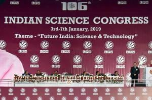 The government has distanced itself from the bizarre and unscientific statements that drew flak and ridicule at the ongoing 106th Indian Science Congress in Jalandhar.
