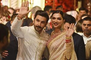 Ranveer Singh and Deepika Padukone got married in November last year after being in a relationship for six years.