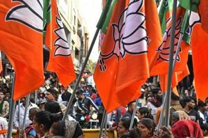 The BJP-led National Democratic Alliance at the Centre may fall nearly 15 seats short of the magic mark of 272 in the 543-seat Lok Sabha, if elections are held now, says the India TV-CNX opinion poll.