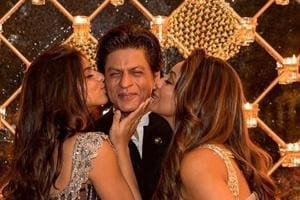 Actor Shah Rukh Khan's wife Gauri Khan posted this picture on his Instagram account.